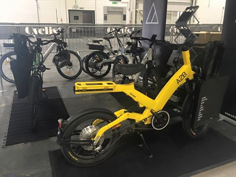 A2B Electric Bikes at London Bike Show.