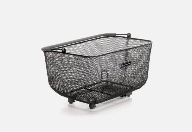 A2B accessory - a catch all quick release basket